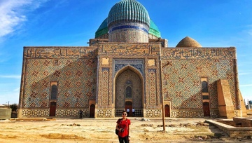 Three Days on the Great Silk Road Tour Package